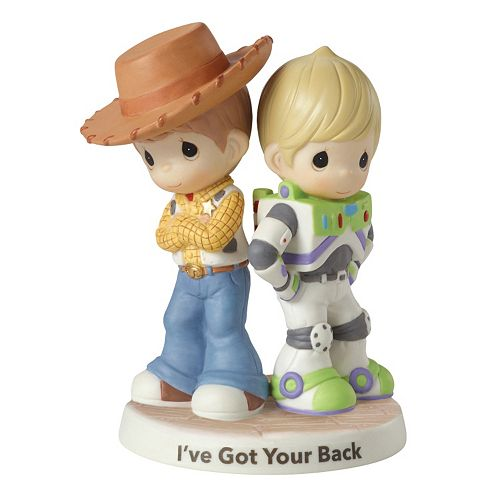 """Disney / Pixar Toy Story """"I've Got Your Back"""" Figurine by Precious Moments"""