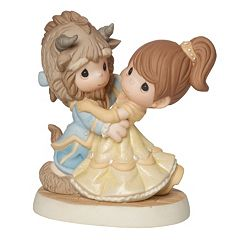 Disney's Beauty and the Beast You Are My Fairy Tale Come True Figurine by Precious Moments