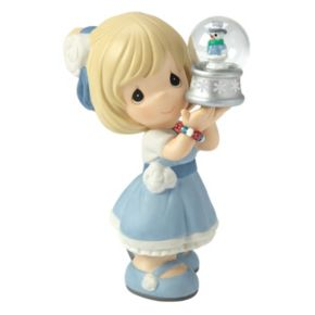 Precious Moments May Your Christmas Be Filled With Wonder Girl Figurine