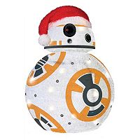 Kurt Adler 28-in. Star Wars BB8 Lighted Indoor / Outdoor Tinsel Decor