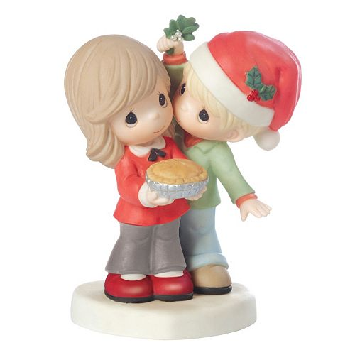 Precious Moments Merry Kissmass Sweetie Pie Christmas Figurine