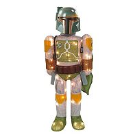 Kurt Adler 28-in. Star Wars Boba Fett Lighted Indoor / Outdoor Tinsel Decor