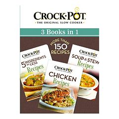 Publications International, Ltd.  3-in-1 Crock-Pot Slow Cooker Cookbook