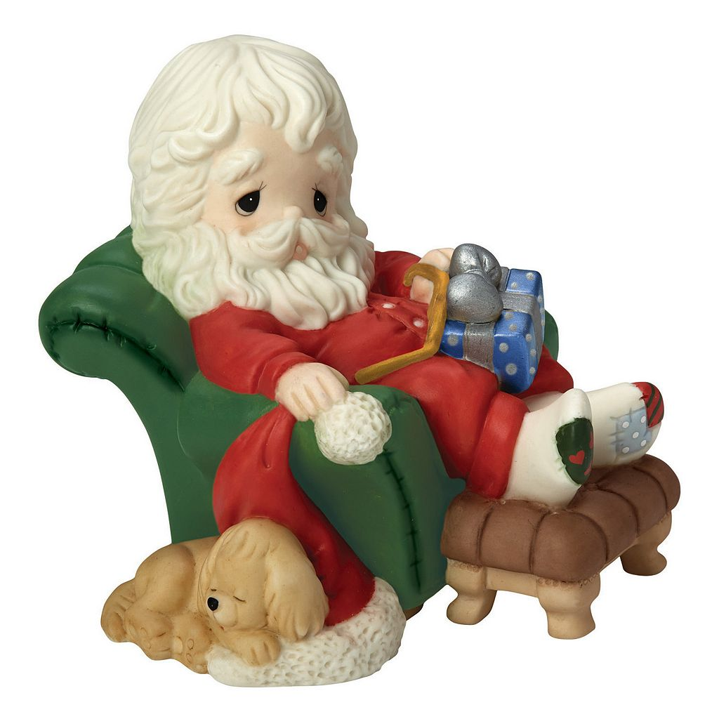 Precious Moments And To All A Goodnight Santa Christmas Figurine