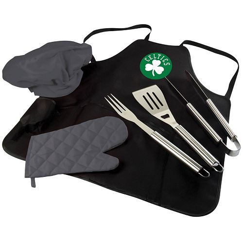 Picnic Time Boston Celtics BBQ Apron & Tote