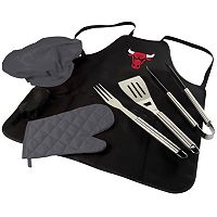 Picnic Time Chicago Bulls BBQ Apron & Tote