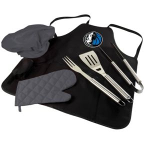 Picnic Time Dallas Mavericks BBQ Apron & Tote