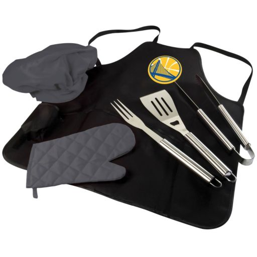 Picnic Time Golden State Warriors BBQ Apron & Tote