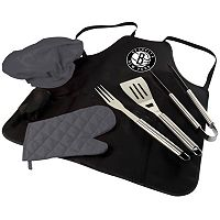 Picnic Time Brooklyn Nets BBQ Apron & Tote