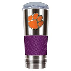 Clemson Tigers 24-Ounce Draft Stainless Steel Tumbler