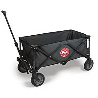 Picnic Time Atlanta Hawks Adventure Folding Utility Wagon