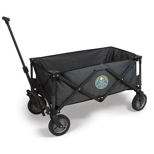 Picnic Time Denver Nuggets Adventure Folding Utility Wagon