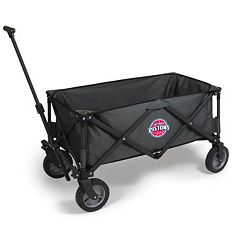 Picnic Time Detroit Pistons Adventure Folding Utility Wagon