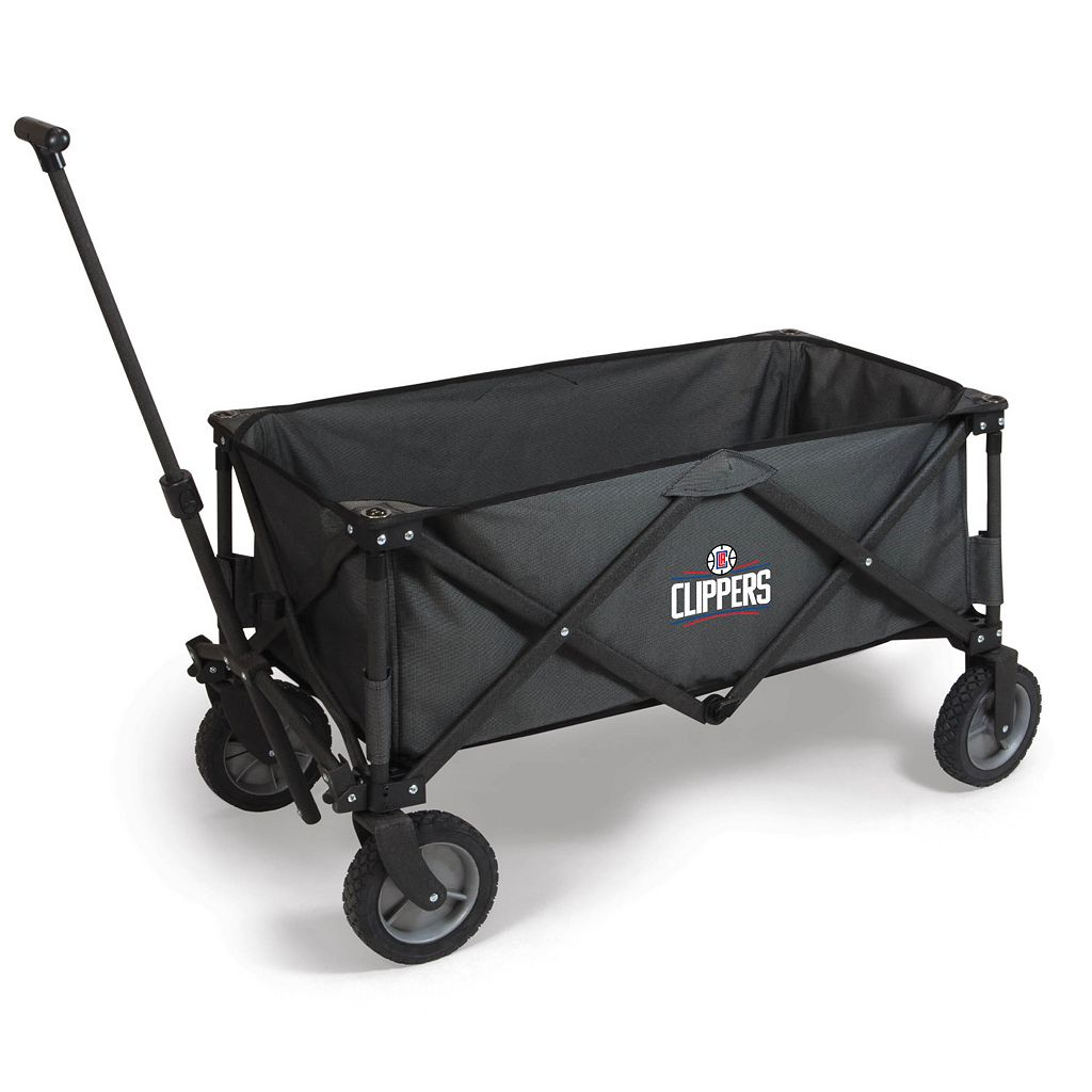 Picnic Time Los Angeles Clippers Adventure Folding Utility Wagon