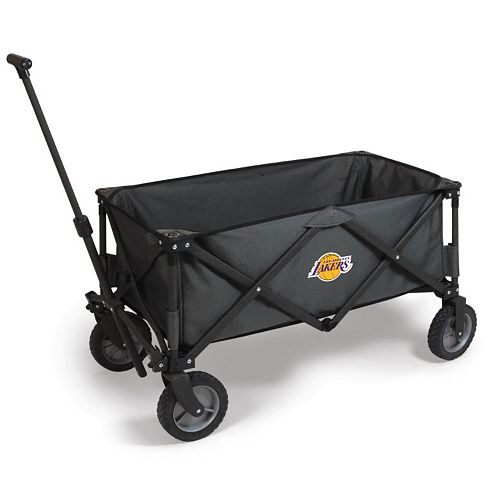 Picnic Time Los Angeles Lakers Adventure Folding Utility Wagon