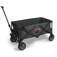 Picnic Time Miami Heat Adventure Folding Utility Wagon