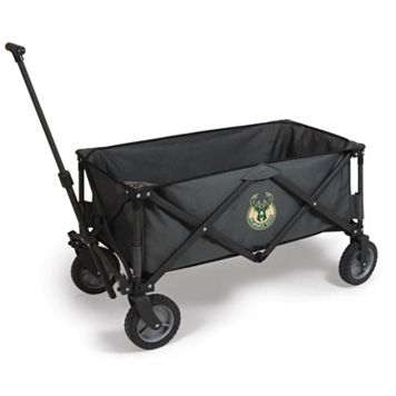 Picnic Time Milwaukee Bucks Adventure Folding Utility Wagon
