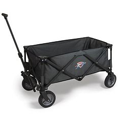Picnic Time Oklahoma City Thunder Adventure Folding Utility Wagon