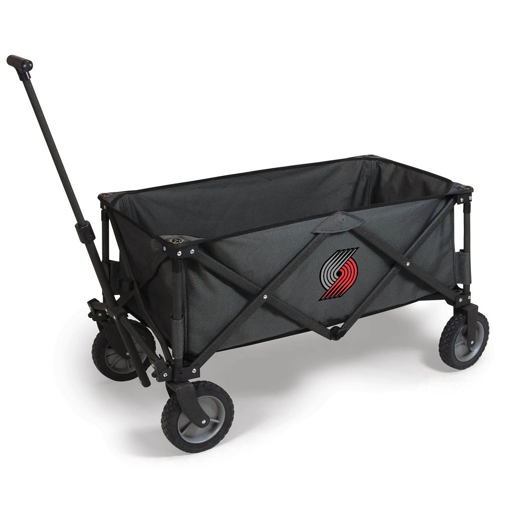 Picnic Time Portland Trail Blazers Adventure Folding Utility Wagon