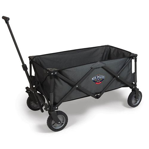Picnic Time New Orleans Pelicans Adventure Folding Utility Wagon