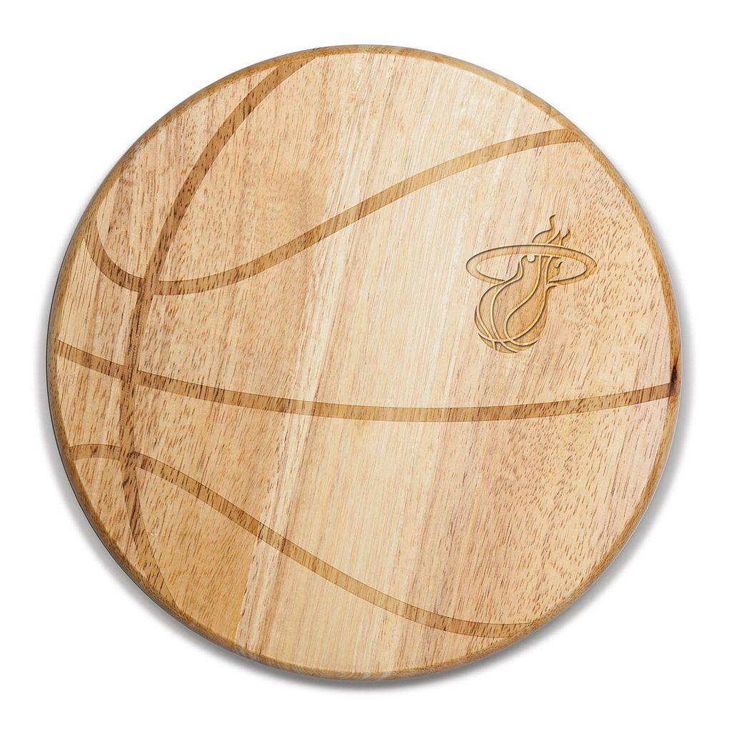 Picnic Time Miami Heat Free Throw Cutting Board