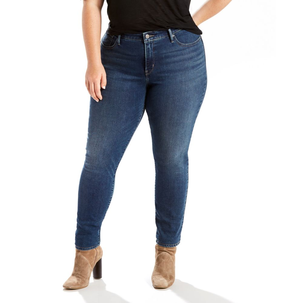 size levi's 311 shaping skinny jeans