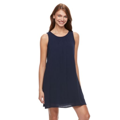 Women's Kate and Sam Gauze Tank Dress