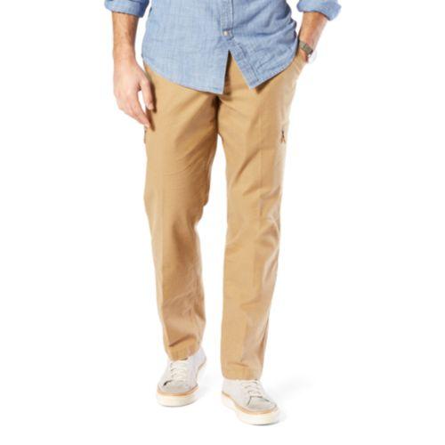 Men's Dockers® Utility Cargo Straight Fit Canvas Pants D2