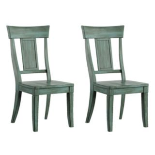 HomeVance Acorn Creek Wood Dining Chair 2-piece Set