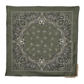 madden NYC Metal Trim Bandana Neckerchief