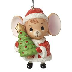 Precious Moments The Holidays Are Mice With You Christmas Ornament