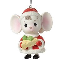 Precious Moments The Holidays Are Mice With You Cheese Christmas Ornament