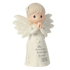 Precious Moments 'May There Always Be An Angel By Your Side' Figurine