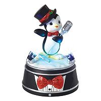 Precious Moments Singing Penguin Light-Up Musical Christmas Figurine