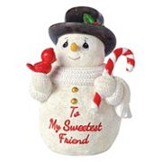 Precious Moments 'To My Sweetest Friend' Snowman Christmas Figurine