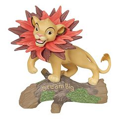 Disney's The Lion King Simba 'Dream Big' Figurine by Precious Moments