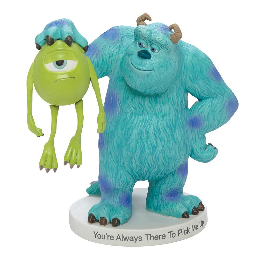 Uncategorized Disney Monsters Inc pixar monsters inc mike sully figurine by precious moments disney moments