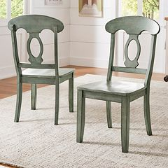 HomeVance Acorn Creek Napoleon Back Dining Chair 2 pc Set
