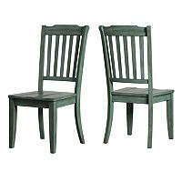 HomeVance Wood Dining Chair 2-piece Set