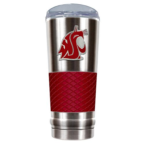 Washington State Cougars 24-Ounce Draft Stainless Steel Tumbler