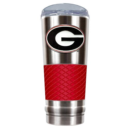 Georgia Bulldogs 24-Ounce Draft Stainless Steel Tumbler