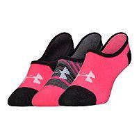Women's Under Armour 3-pk. Low-Cut Liner Socks