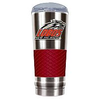 New Mexico Lobos 24-Ounce Draft Stainless Steel Tumbler