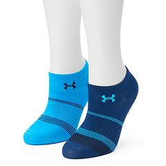 Women's Under Armour 2-pk. Grippy III No-Show Socks