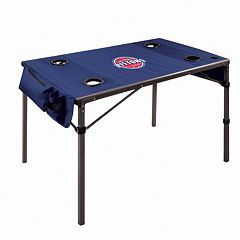 Picnic Time Detroit Pistons Folding Travel Table
