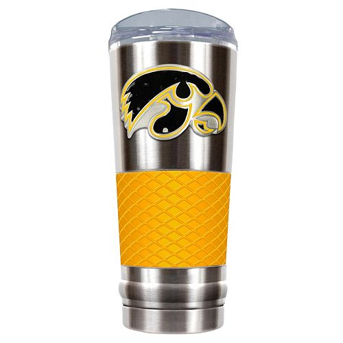 Iowa Hawkeyes 24-Ounce Draft Stainless Steel Tumbler