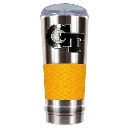 Georgia Tech Yellow Jackets 24-Ounce Draft Stainless Steel Tumbler