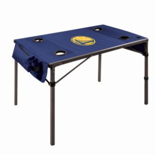 Picnic Time Golden State Warriors Folding Travel Table