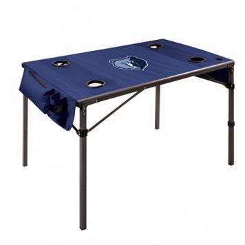 Picnic Time Memphis Grizzlies Folding Travel Table