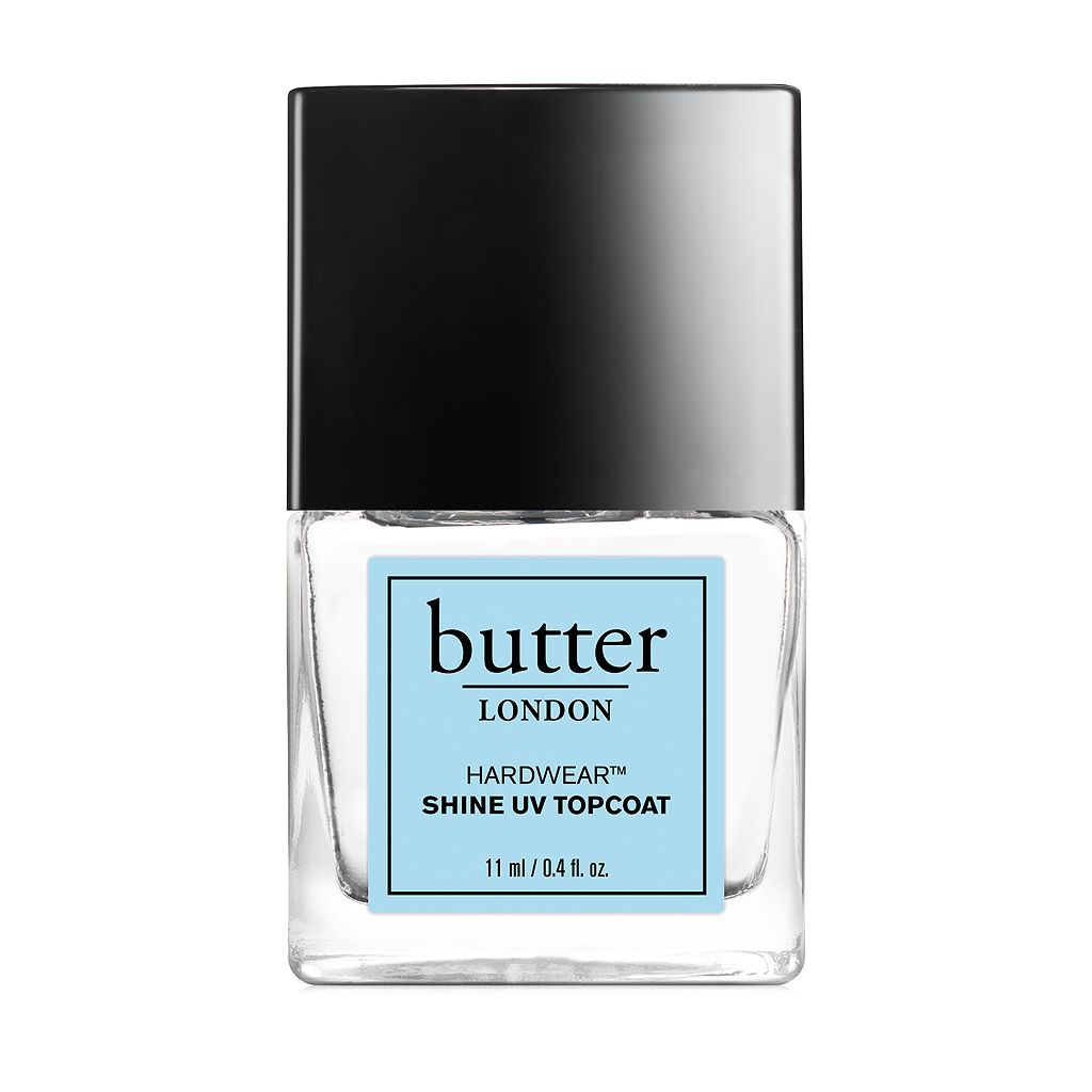 butter LONDON Hardwear Shine UV Topcoat